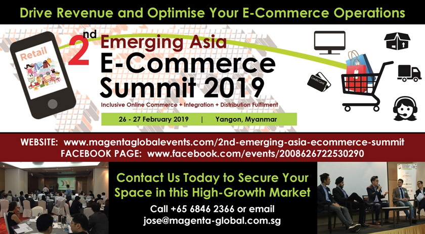 2nd Emerging Asia E-Commerce Summit 2019 | CCI France Myanmar